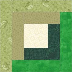 Free Quilt Pattern: Emma's Miniature Block of the Month Quilt Block 7