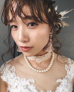 Three Rings, Green Silk, Flower Seeds, Wedding Hairstyles, Pearl Necklace, Bridal, Instagram, Ideas, Fashion