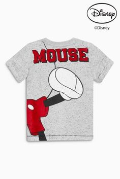 Buy Grey Mickey Mouse™ T-Shirt (3mths-6yrs) from the Next UK online shop