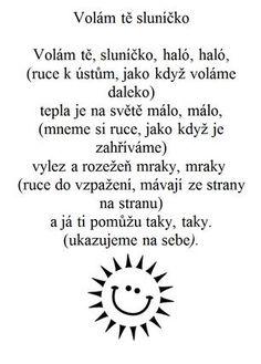 Básničky a písničky :: MŠ Třebechovická