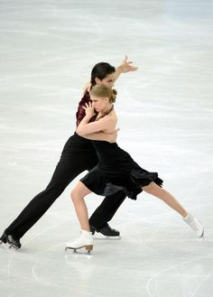 Andrew Poje and Kaitlyn Weaver - Free Dance - Sochi 2014