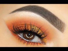 QUICK 3 Min Sunset Eye Makeup Tutorial - YouTube