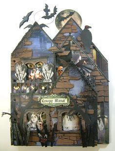 Artfully Musing: Haunted House--http://artfullymusing.blogspot.com/search/label/Haunted%20House