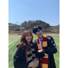Image may contain: one or more people, people standing and outdoor Web Drama, Drama Film, Teen Web, Teen Images, I Have A Boyfriend, Harry Potter Cosplay, Girl Friendship, Ulzzang Korea, Korean Couple