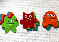 The Homes I Have Made: DIY Monster Stuffies!