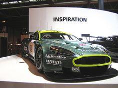 Aston Martin 24hr Le Mans Race Car