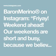 """BaronMerino® on Instagram: """"Friyay! Weekend ahead! Our weekends are short and busy, because we believe in our mission - to produce business clothing that performs…"""" Business Outfits, Believe, Clothing, Instagram, Outfits, Business Attire, Outfit Posts, Kleding, Clothes"""