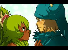 queen amalia and king yugo by Nishi06.deviantart.com on @deviantART