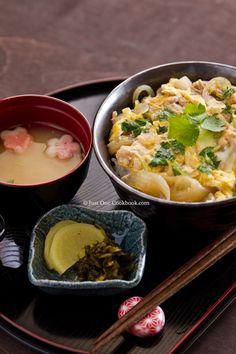 Oyakodon | Just One Cookbook  Post graduate school manga binge inspires burning desire to eat various donburi. This seemed to be the easiest.