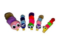 Clothespin Caterpillars!