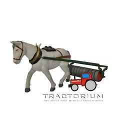 Britains 9504 Pferd mit Walze 1/32