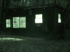 Haunted hen house ghost video .