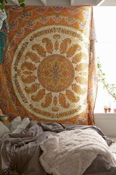 urbnite:  Medallion Tapestry