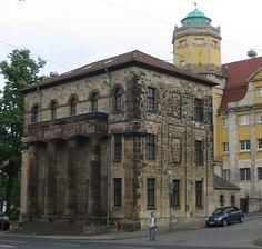 Torwache am Gebrüder-Grimm-Platz
