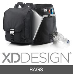 Rio unites 100% RPET and well thought out design in one urban laptop backpack. Inside the bag there are separate pockets for all of todays gadgets and even more. All your products will be well protected and still easy accessible. The padded shoulder straps make daily use comfortable. Registered design®