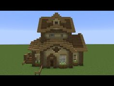 Quick Wooden Minecraft House! - YouTube