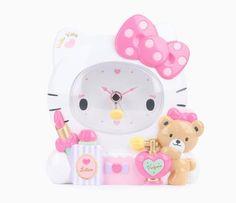 Hello Kitty Alarm Clock: Pamper
