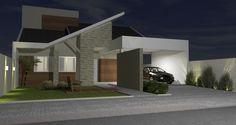 Resultado de imagem para fachada residencial térrea