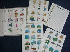 The Homeschool Den: Foreign Language GOLDMINE!!! German Flashcards, German Writing Worksheets