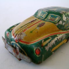 Old Tin Toy Buick