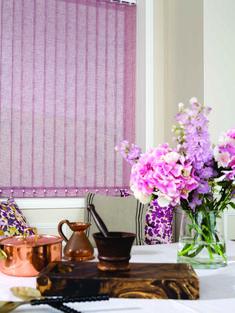 Clover & Thorne Vertical Blinds #cloverandthorne #verticalblinds #lilac…