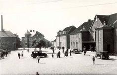 Nakskov, Banegården opført 1925