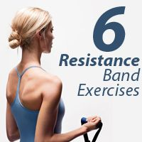 Quick, easy full body work out Best Resistance Bands, Resistance Band Exercises, Best Exercise Bands, Band Workouts, Fitness Diet, Health Fitness, Hiit Abs, Senior Fitness, Physical Fitness