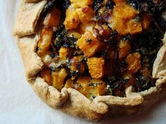 Butternut Squash Galette with Kale and Gruyère | Isn't this … | Flickr