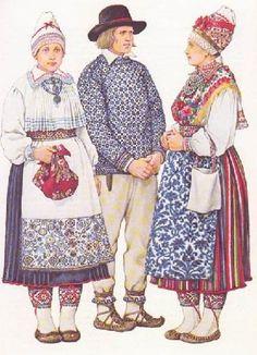 Estonian folk costumes - Estonia