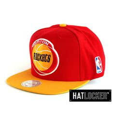 354b4088b6727 Houston Rockets Snapback by Mitchell   Ness at www.hatlocker.com