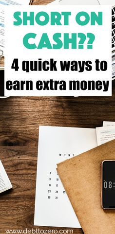 Whether you overspent a little this month or you just wish you had some more money to your name, there are ways to make extra money. People often forget that there are other ways to make more money than their part-time or full-time job. This article outlines four ways that you can start earning money in your spare time. #moneymanagement #sidehustles #moneytips