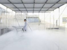 Incredible Installations Allows Visitors to Walk on Clouds