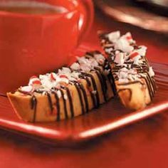 Peppermint Biscotti Recipe from Taste of Home -- shared by Paula Marchesi of Lenhartsville, Pennsylvania