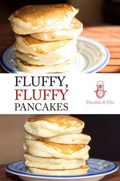 The BEST recipe for FLUFFY, FLUFFY, PANCAKES! And what is extra? No buttermilk required for this pancake recipe! & Recipe & Sweets & Chai Supply via FrancescaLarozzi/ The post Fluffy, Fluffy Pancakes appeared first on Francesca Larozzi. Breakfast And Brunch, Breakfast Pancakes, Breakfast Dishes, Pancakes For Two, Souffle Pancakes, Greek Yogurt Pancakes, Recipe For Pancakes, Pancakes Easy, Pancakes And Waffles