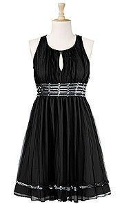 Cutaway Short Mesh Dress
