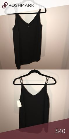 Top shop Maternity top chiffon in black Topshop black chiffon top maternity. One in size 4 and the other in size 6. Never been worn, great condition! Topshop MATERNITY Tops Tank Tops