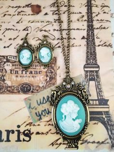 I love it! Vintage Cameo Necklace