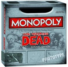 The Walking Dead Monopoly Survival Edition Game   Combines the timeless board game with today's hottest horror hit $37.30