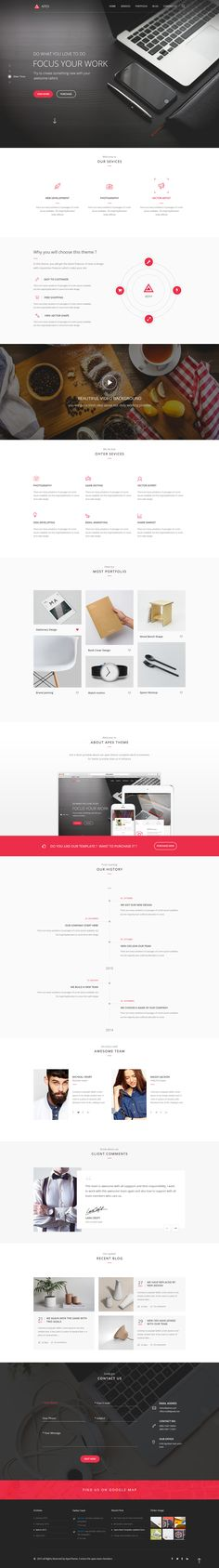 Apex - Corporate Template - PSD Templates | ThemeForest