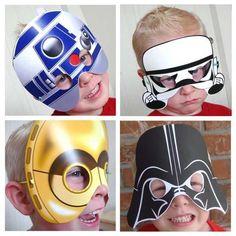The Star Wars Printable Masks