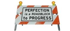 """""""Procrastination is just the symptom. And one of the causes is perfectionism."""""""