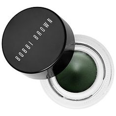 Long-Wear Gel Eyeliner - Bobbi Brown in COLOR Ivy Shimmer Ink - deep emerald green| Sephora