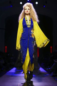 Jean Paul Gaultier Fashion Show Couture Collection Spring Summer 2016 in Paris
