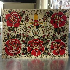 american traditional rose tattoo   Traditional American Tattoo Rose Flash Tags: american traditional