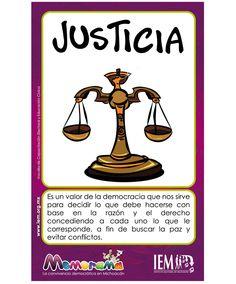 Worksheet. Justicia  Valores  Pinterest