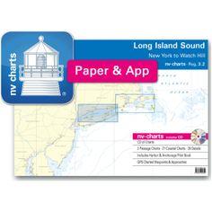 NV-Charts Reg. 3.2 - Long Island Sound: New York to Watch Hill - £79