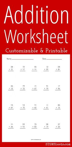 math worksheet : 1000 images about math stem resources on pinterest  decimals  : Addition Worksheet Generator