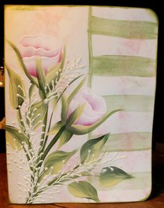 One Stroke Painting Ideas   One Stroke Rosebuds   Flickr - Photo Sharing!