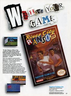 river city ransom | Retro Game of the Month - River City Ransom (NES) - Gaming on Nintendo ...