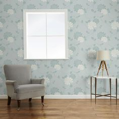 Welcome to Laura Ashley where you can shop online for exclusive home furnishings and womenswear_EN Childrens Room Decor, Lounge Decor, Home Living Room, Home Furnishings, Grey Damask Wallpaper, Home, Damask Decor, Room Decor, Furnishings